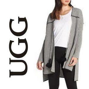 UGG W Riley Long Cardigan Sweater Poncho NWT $298